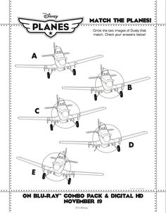 Can you match the #DisneyPlanes?