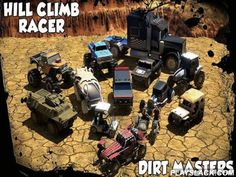 Hill Climb Racer: Dirt Masters  Android Game - playslack.com , ride tough automobiles and other automobiles. ride around off-road and arduous tracks  with lots of hindrances. Get behind the wheel and stride on the gas in this Android game. You'll have astonishing quests on vegetation, ravine, mountain, and other tracks. You can ride a collection of automobiles like carriage, tractor, armor-clad organizations traveler, gigantic truck, etc. achieve coinages and enhance your automobiles. open…