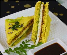 Sandwich Dhokla Recipe/ Paneer Sandwich Dhokla A light snack you always end up having more #dhokla #sandwich #dhoklasandwich #BreadlessSandwich #Gujarati #yummy #paneerdhokla #breakfast #eveningsnack Recipe at: www.annapuraz.in
