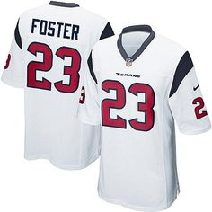 9fb108b94 2013 Nike Elite Men s Houston Texans  23 Arian Foster White NFL Jersey  Online free shipping