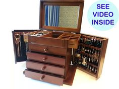 Image result for jewellery boxes wooden