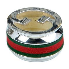 Silver plated 'Gucci' ashtray, 1950s