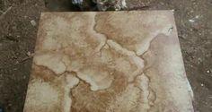 Hacer efecto piedra en madera. Epoxy Countertop, Polymer Clay, Craft Projects, Mango, Artsy, Diy Crafts, Handmade, Pasta Piedra, Refinished Furniture