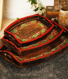 Loved it: Unravel India Multi Sheesham Wood Trays, http://www.snapdeal.com/product/unravel-india-multi-sheesham-wood/1320391398