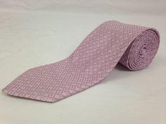 BROOKS BROTHERS 59L Mens Neck Tie Makers Merchants Pink Blue Geometric Dots Silk #BrooksBrothers #NeckTie #Ties
