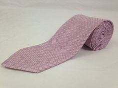 BROOKS BROTHERS 59L Mens Neck Tie Makers Merchants Pink Blue Geometric Dots Silk #BrooksBrothers #NeckTie #Ties