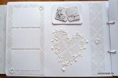 Hochzeitsalbum-Wedding-Album- Hochzeit-weiß-edel-Gestaltung-Einzelseiten-S6:
