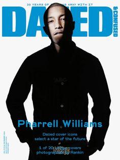 Pharell Williams   Dazed   December 2011