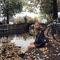 Nothing I love more than fall & Amsterdam, preferably mixed together #amstergram