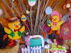 Perler Beads, Tweety, Character, Art, Baby Chicks, Hama Beads, Fuse Beads