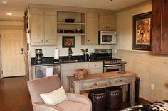Designer Builders - Aiken SC - rental unit, multi purpose, small space, rustic cabinetry