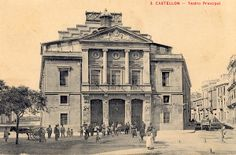 El Teatro de Principal de Castelló de la Plana a principios del S. XX