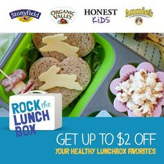 Rock the Lunchbox provides parents with tips and ideas for packing healthy, kid-approved lunches. Save up to $2 from participating brands and load up your kid's lunchbox with the good stuff.