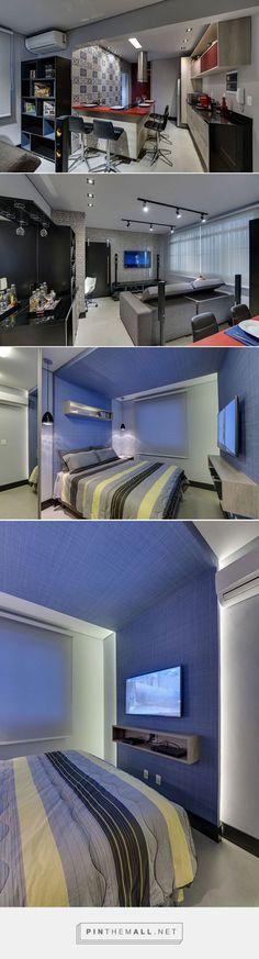 Apartamento de 55 m² em Santos é inspirado em lofts de Nova York   Casa - created via https://pinthemall.net