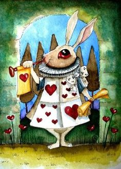 The White Rabbit 2 by stressiecat on Etsy by ingrid