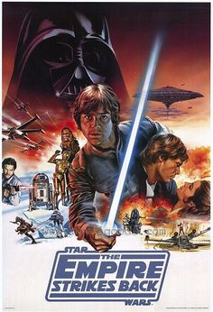Star Wars The Empire Strikes Back - Star Wars Canvas - Latest and trending Star Wars Canvas. - Star Wars The Empire Strikes Back Star Wars Poster, Star Wars Art, Love Movie, I Movie, Film Science Fiction, Millenium, The Blues Brothers, Best Movie Posters, Film Posters