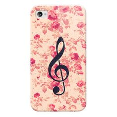 iPhone 7 Plus/7/6 Plus/6/5/5s/5c Case - Vintage Music Note Treble Clef... ($30) ❤ liked on Polyvore featuring accessories, tech accessories, iphone case, apple iphone case, flower iphone case, vintage iphone case, iphone cases and slim iphone case