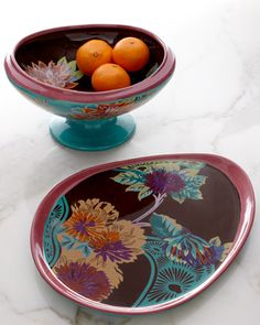 Vivre Oval Platter by Tracy Porter at Horchow.