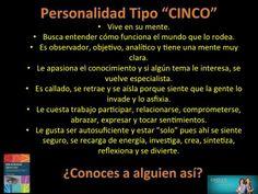 Descubre tu tipo de personalidad