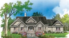 Donald A. Gardner Architects, Inc. The Berkshire House Plan DDWEBDDDG-748