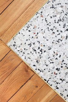 Associer le terrazzo au parquet en bois massif, id… – … Associate the terrazzo to the parquet of solid wood, id … –