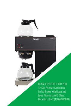Humorous Bunn 2 Burner Vpr Series Vpr Black Making Things Convenient For Customers Coffee Brewers & Warmers