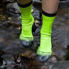 These waterproof socks that ensure your toes will never be uncomfortably damp again: