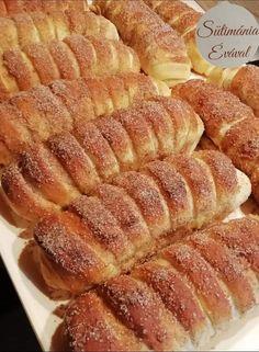 Hungarian Desserts, Hungarian Recipes, Fun Cooking, Cooking Recipes, Delicious Desserts, Dessert Recipes, Bread Dough Recipe, Good Food, Yummy Food