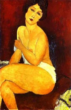 "felixinclusis: ""topcat77: Amedeo Modigliani. Nudo sul Divano """