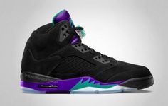 #RELEASE #REMINDER: #BlackGrape #Grape #NikeAIR #Jordan #5 #V out tomorrow- good luck to all trying to cop!