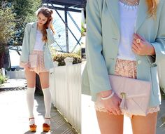 Sweet Mint (by Jordana L.) http://lookbook.nu/look/3114183-Sweet-Mint