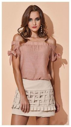 Swans Style is the top online fashion store for women. Shop sexy club dresses, jeans, shoes, bodysuits, skirts and more. Boho Fashion, Fashion Dresses, Womens Fashion, Fashion Design, Blouse Styles, Blouse Designs, Casual Chic, Skirt Outfits, Casual Outfits