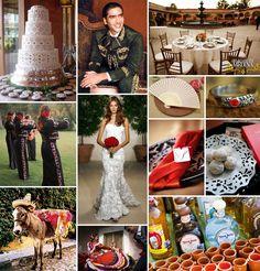 spanish inspired wedding | Day Dabbler: Spanish Hacienda Style Wedding...