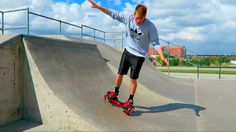 FUN FUN FUN #hoverboarding At The Skatepark! Get yours from www.dailygadgets4all.com
