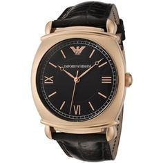 2e562a93c750 Emporio Armani AR0320 Rose Gold Plated Leather Strap Mens Watch UK on sale  165GBP armaniemporiowatches.co.uk. Professional Emporio Armani Watches