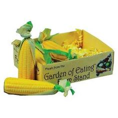 18 Inch Doll Farm Fresh Food Accessory,4 Ears of Corn on the Cob in Veggie Crate : Target