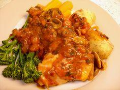 Chef Marco Pierre White's Chicken Chasseur recipe.