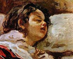 The Sleeping Child by Juan Francisco Gonzalez