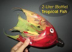 Relentlessly Fun, Deceptively Educational: 2-Liter {Bottle} Tropical Fish