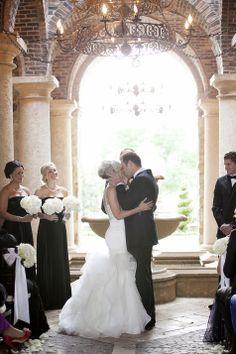 First Kiss   Sarah Bray Photography   TheKnot.com