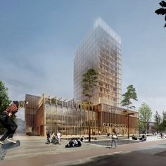 White+Arkitekter+selected+to+build+timber-framed+high-rise+in+Sweden