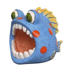Ceramic Monsters, Clay Monsters, Ceramic Animals, Clay Animals, Pottery Animals, Clay Fish, Ceramic Fish, Ceramic Clay, Ceramic Pottery