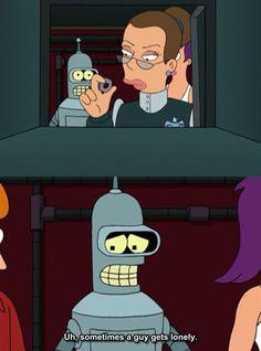 Watching Futurama when…