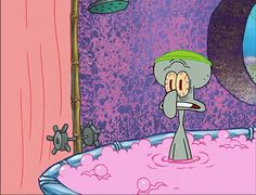 When you're wishing bubble baths were as transformative as self-care enthusiasts make them seem. | 26 Times Squidward Summed Up What It's Like To Be Depressed Cute Disney Wallpaper, Cute Cartoon Wallpapers, Spongebob Pics, Squidward Tentacles, Pineapple Under The Sea, App Covers, Cartoon Icons, Vintage Cartoon, Spongebob Squarepants