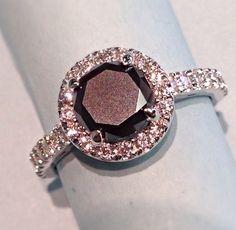 Black diamond ring http://www.creativedesignsjewelry.com/