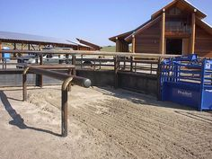 Roping Arena Horse Dream Barn Layout Cattle Corrals