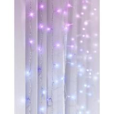 Bring on-trend, industrial looks to your residence by selecting this Merkury Innovations Multi-Color LED Curtain Cascading Lighting. Easy to hang. White Led Lights, Led String Lights, Twinkle Lights Bedroom, Bedroom Lighting, Bedroom Decor, Bedroom Inspo, Novelty Lamps, Cascade Lights, Deco Led