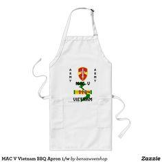 MAC V Vietnam BBQ Apron 1/w