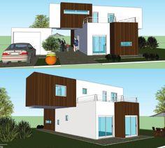 Casa hechas con contenedores mar timos casas ideas - Diseno de casas con contenedores ...