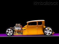 Visit The MACHINE Shop Café... ❤ Best of Hot Rod @ MACHINE ❤ ('27 Ford Coupé Hot Rod Beauty)